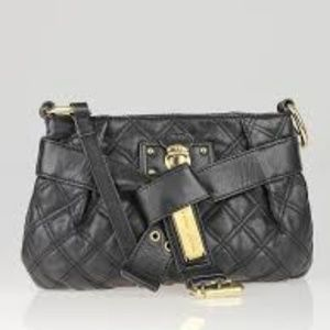 Marc Jacobs Kristina Black Leather Crossbody
